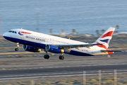 G-MIDX - British Airways Airbus A320 aircraft