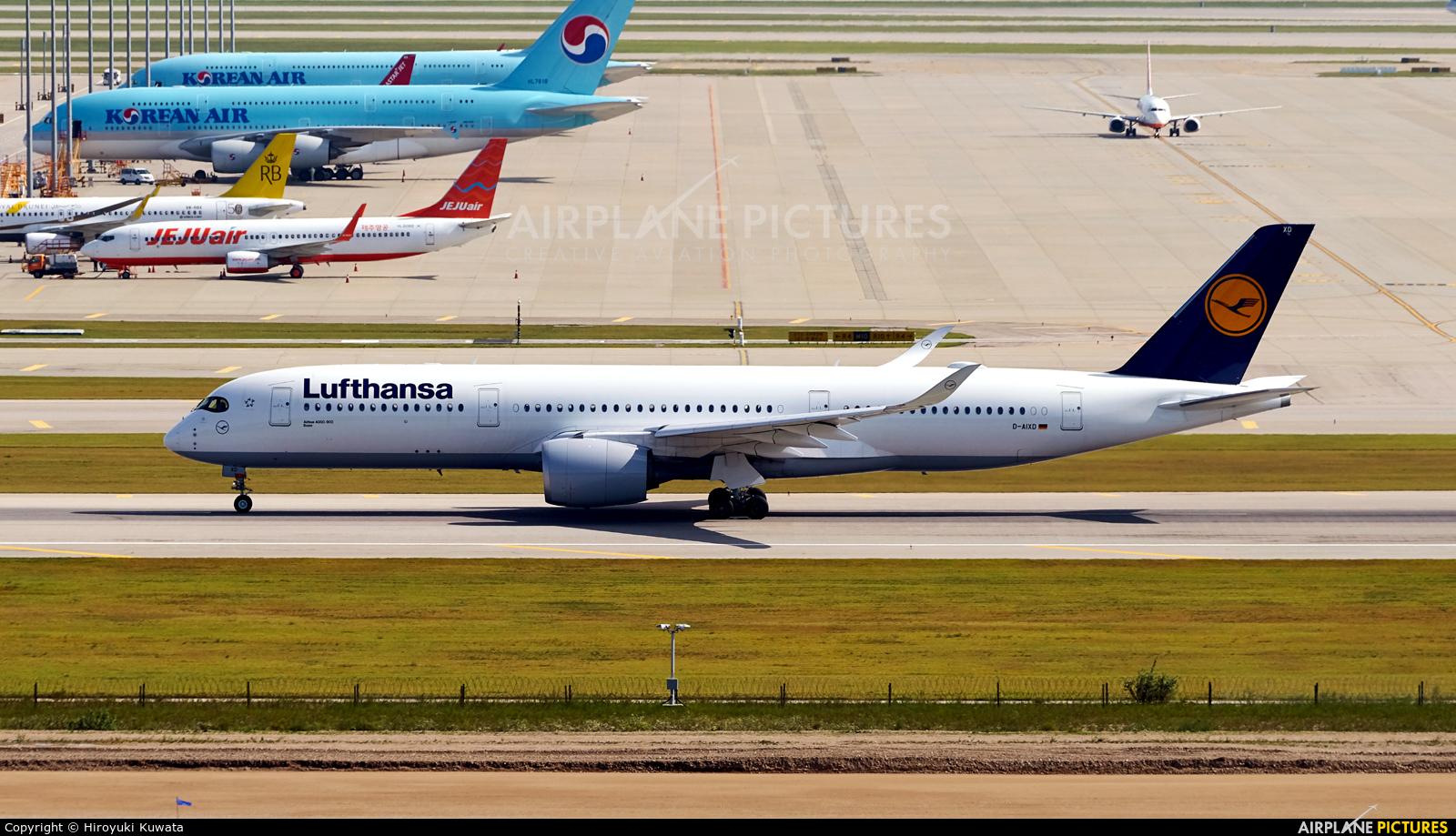 Lufthansa D-AIXD aircraft at Seoul - Incheon