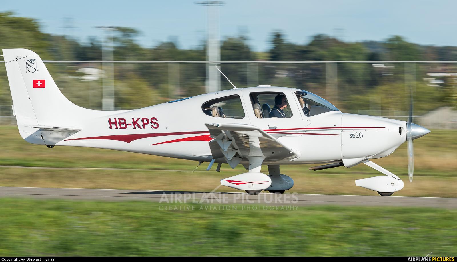 Private HB-KPS aircraft at Lausanne - La Blécherette