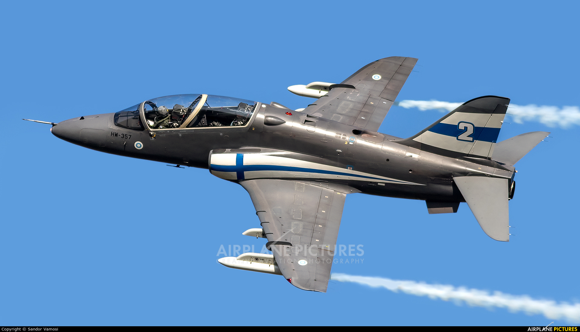 Finland - Air Force: Midnight Hawks HW-357 aircraft at Ostrava Mošnov