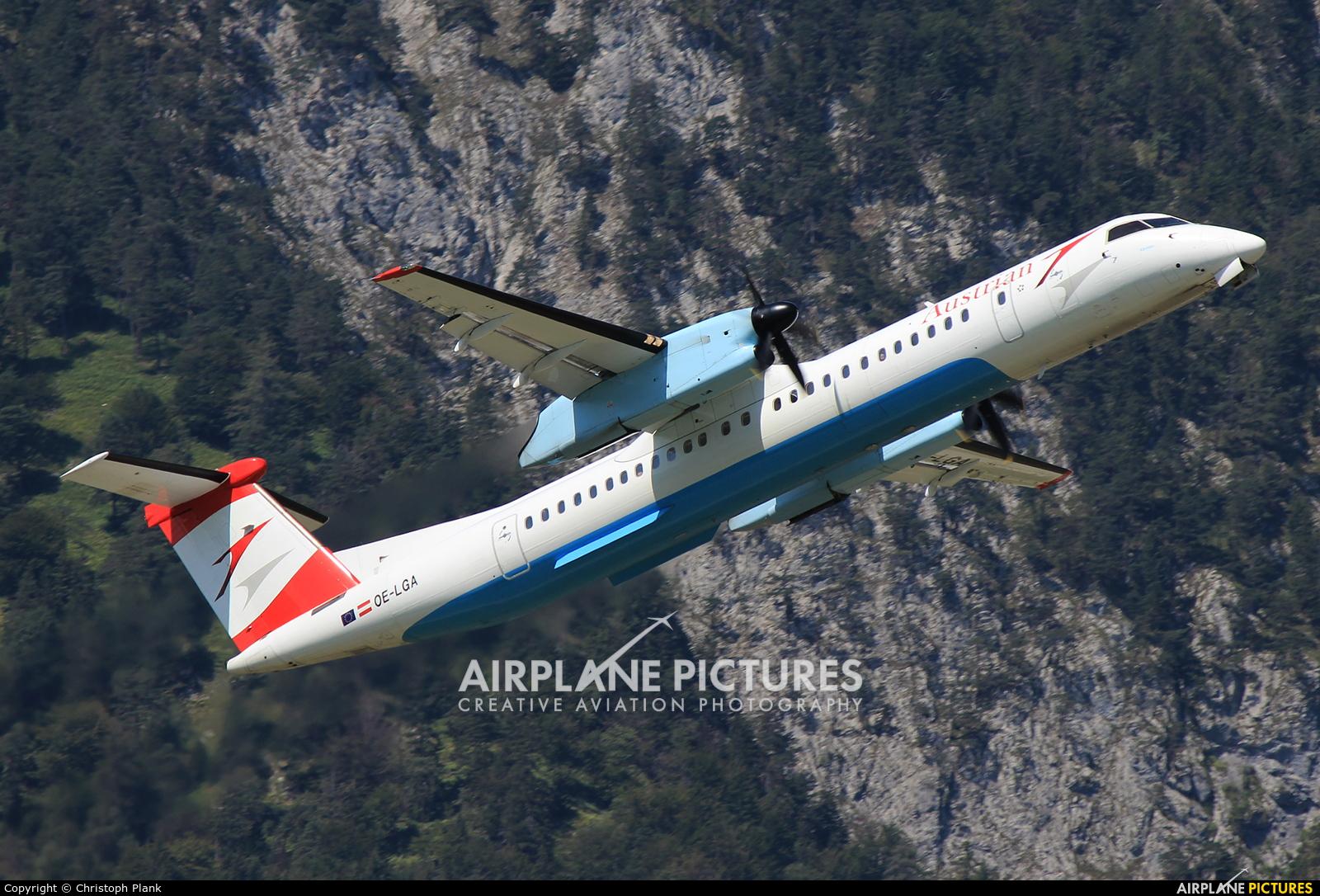 Austrian Airlines/Arrows/Tyrolean OE-LGA aircraft at Innsbruck