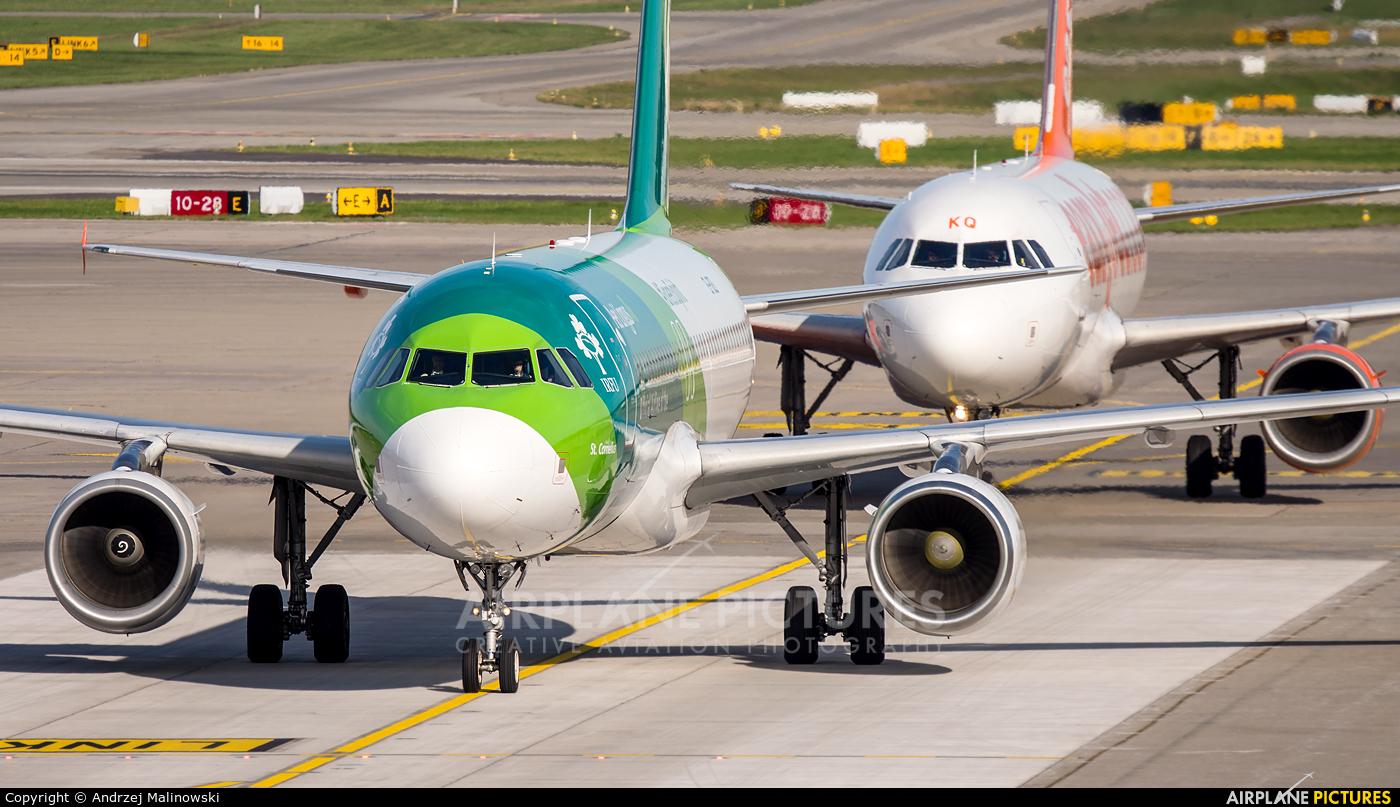 Aer Lingus EI-DEI aircraft at Zurich