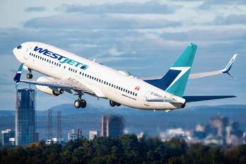 C-GWSX - WestJet Airlines Boeing 737-800
