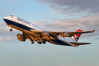 G-CIVB - British Airways Boeing 747-400
