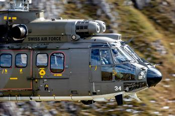T-334 - Switzerland - Air Force Aerospatiale AS532 Cougar