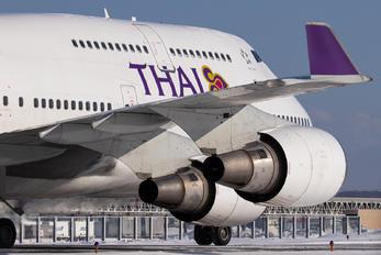 - - Thai Airways Boeing 747-400