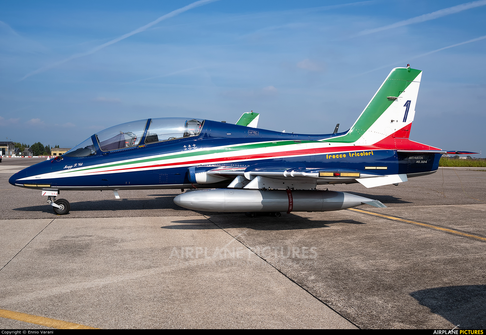 "Italy - Air Force ""Frecce Tricolori"" MM54534 aircraft at Verona - Villafranca"