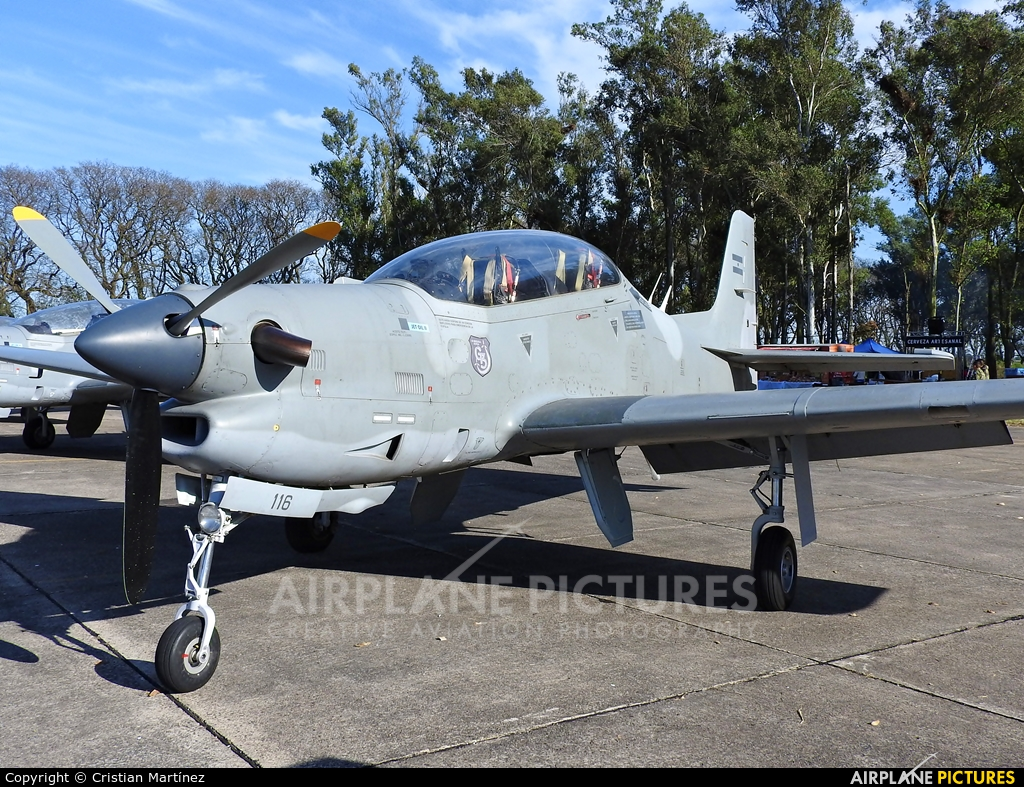 Argentina - Air Force A-116 aircraft at Reconquista - Daniel Jurkic