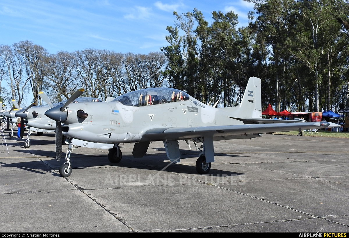 Argentina - Air Force A-112 aircraft at Reconquista - Daniel Jurkic