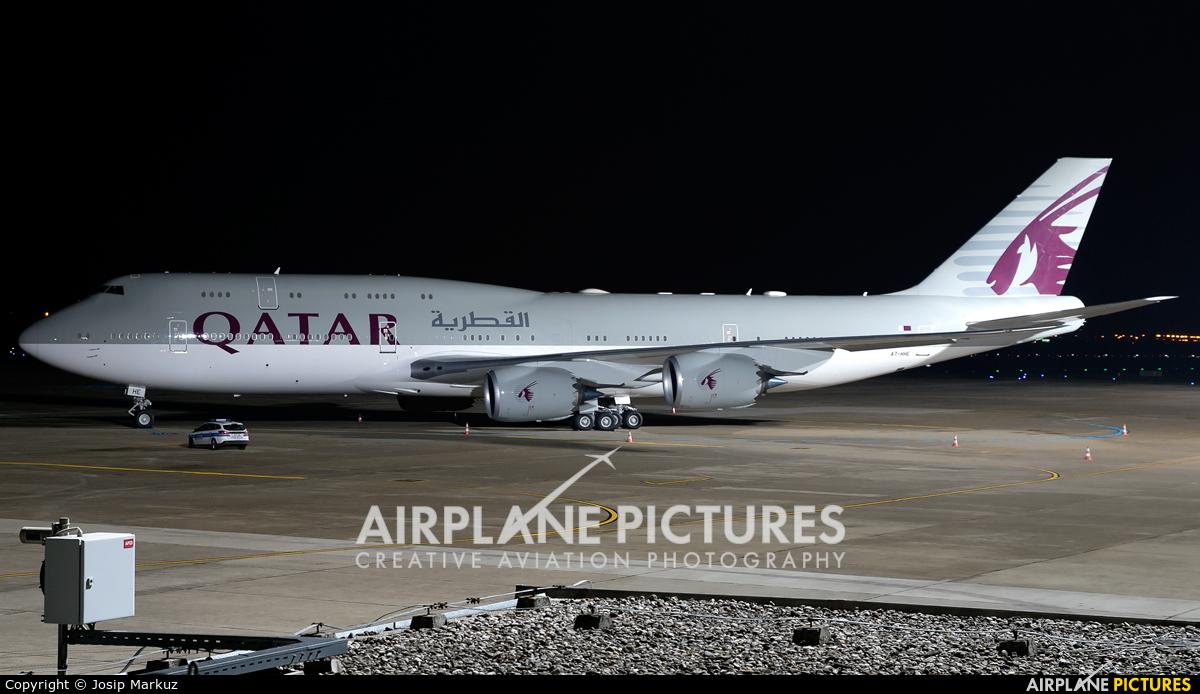 Qatar Amiri Flight A7-HHE aircraft at Zagreb