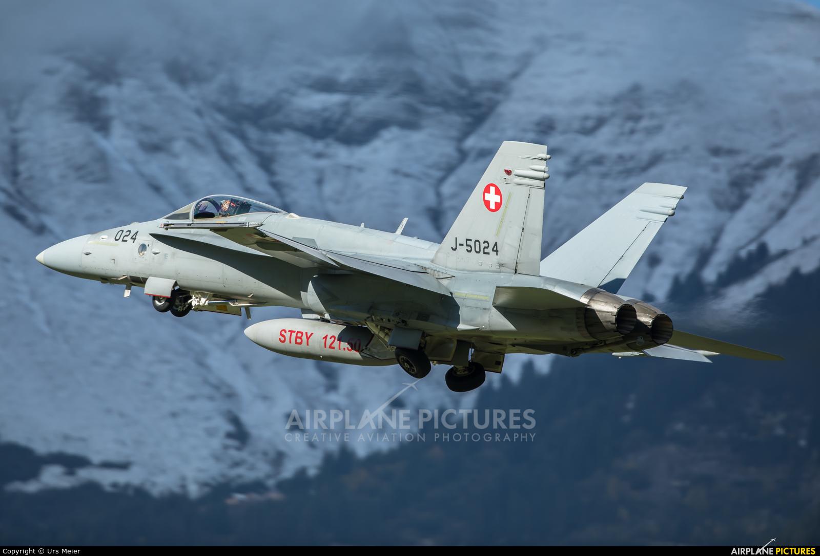 Switzerland - Air Force J-5024 aircraft at Meiringen