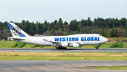 N356KD - Western Global Airlines Boeing 747-400F, ERF