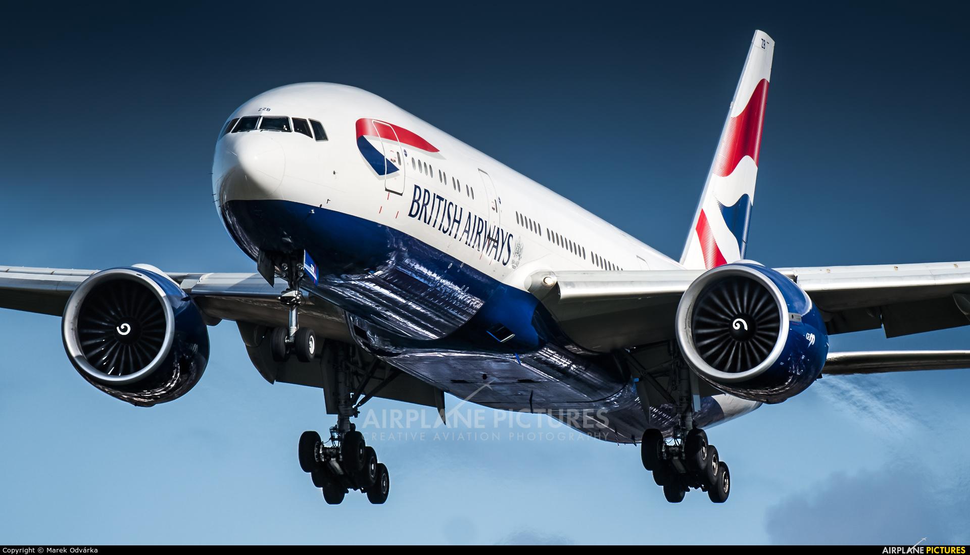 British Airways G-ZZZB aircraft at London - Heathrow