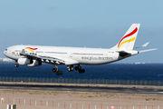EC-MQM - Plus Ultra Airbus A340-300 aircraft