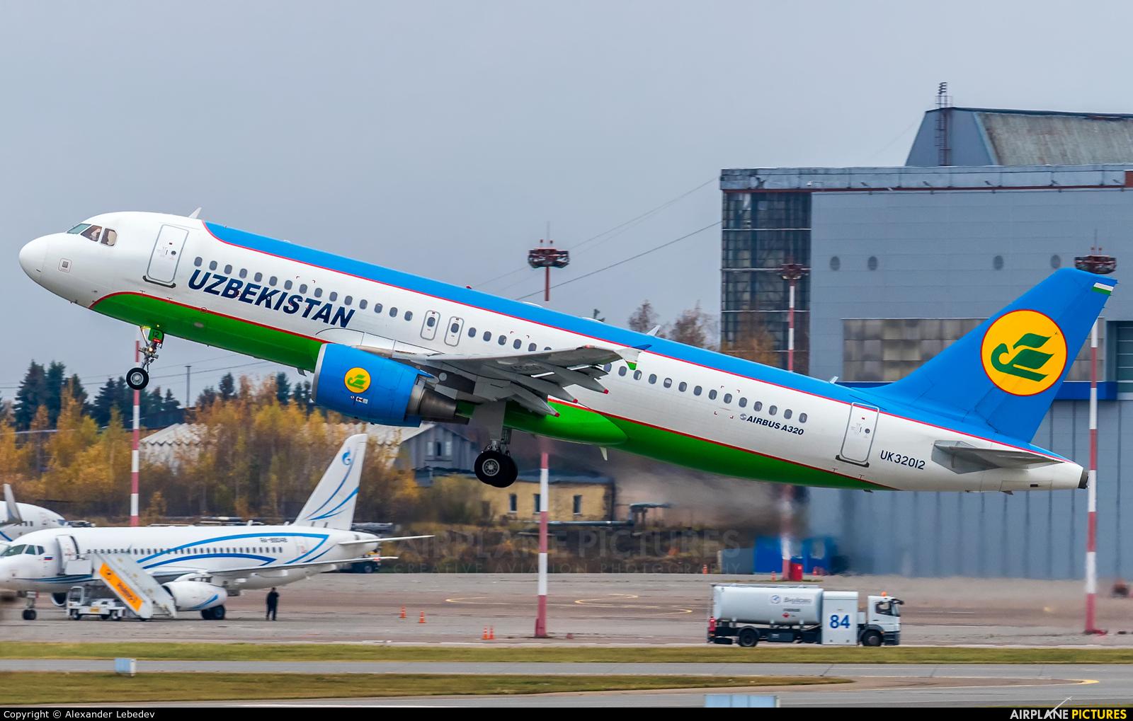 Uzbekistan Airways UK32012 aircraft at Moscow - Vnukovo