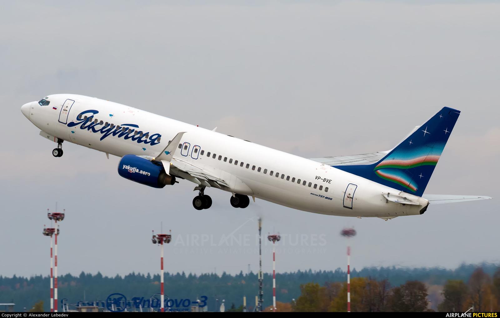 Yakutia Airlines VP-BVE aircraft at Moscow - Vnukovo