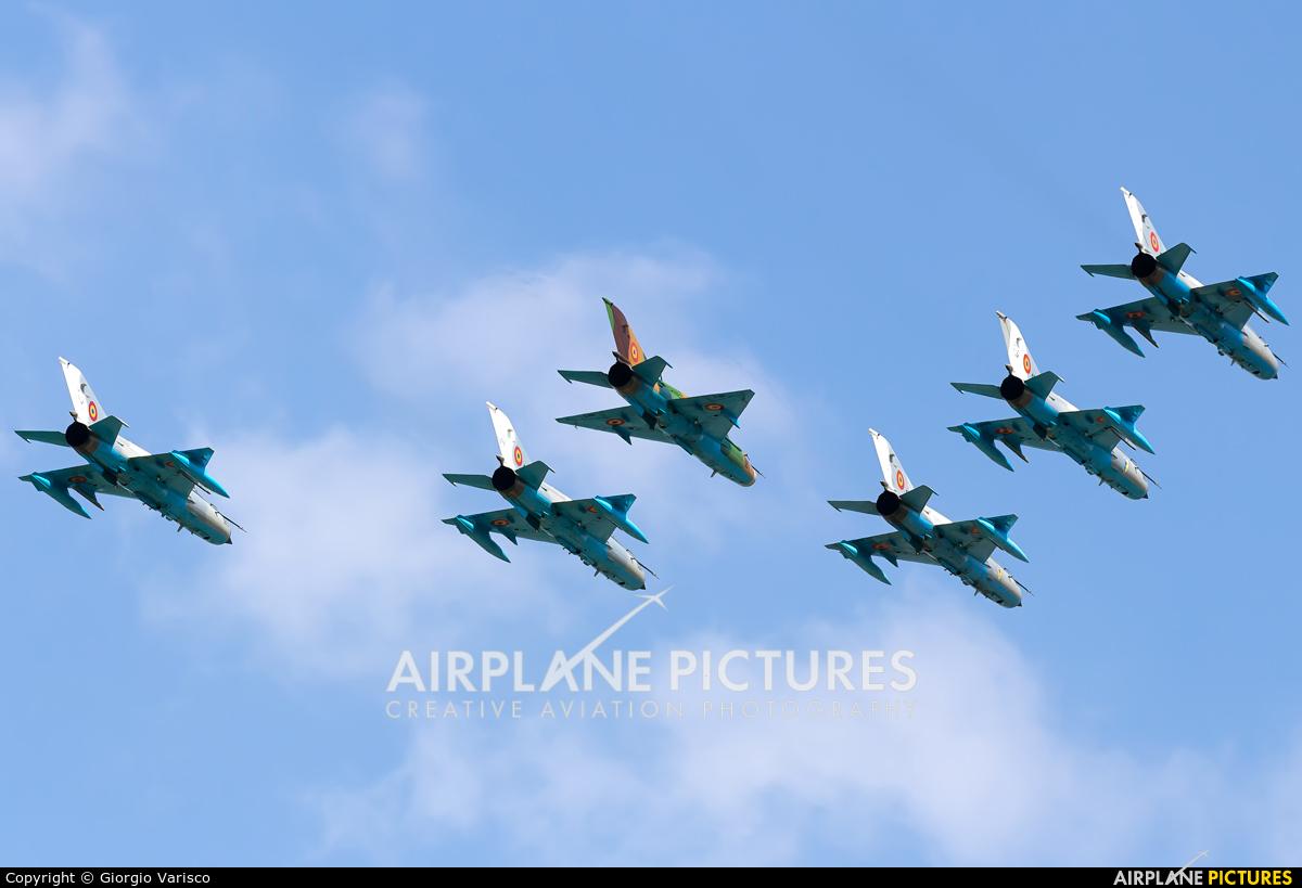 Romania - Air Force 6305 aircraft at Bucharest - Aurel Vlaicu Intl