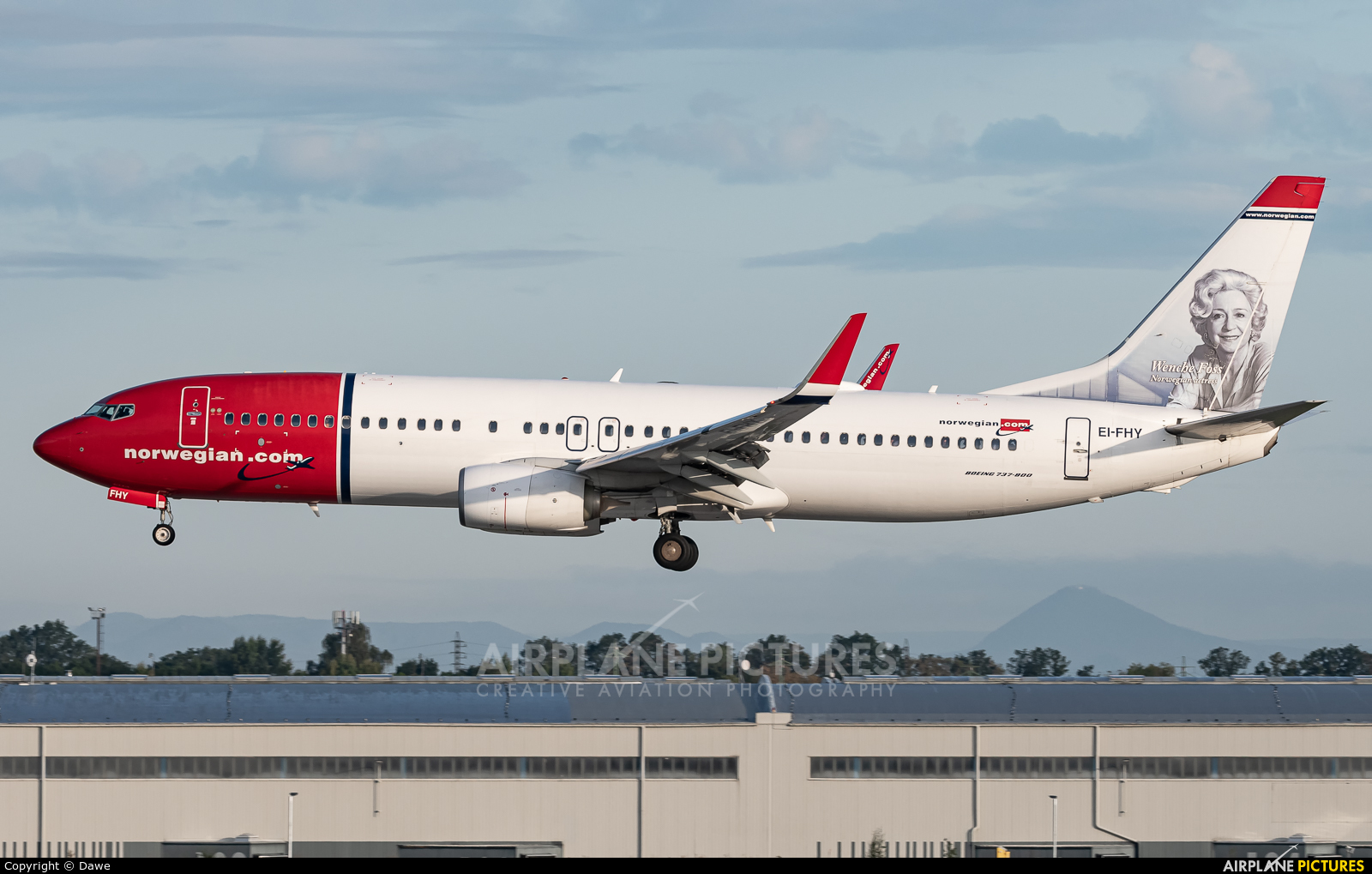Norwegian Air International EI-FHY aircraft at Prague - Václav Havel
