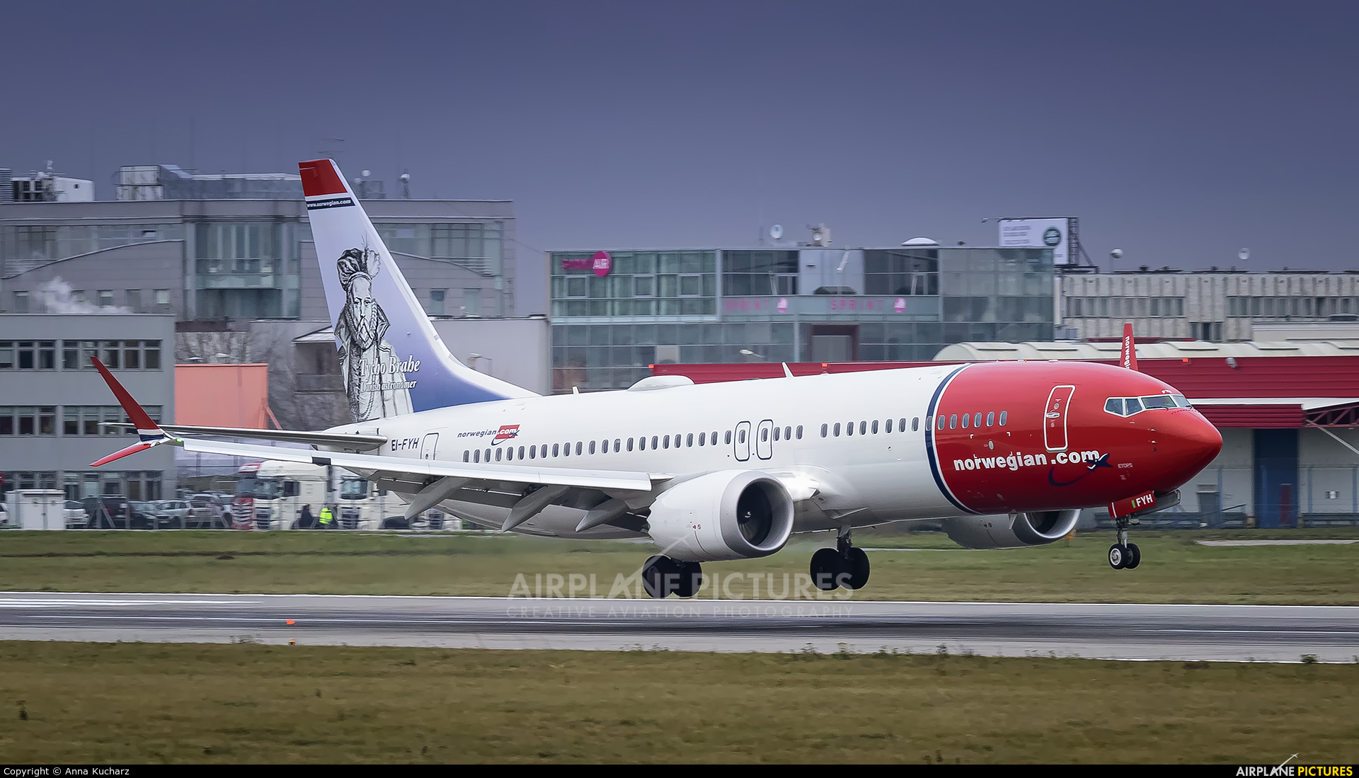 Norwegian Air Shuttle EI-FYH aircraft at Warsaw - Frederic Chopin