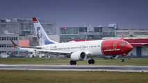 EI-FYH - Norwegian Air Shuttle Boeing 737-8 MAX aircraft