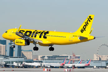 N645NK - Spirit Airlines Airbus A320