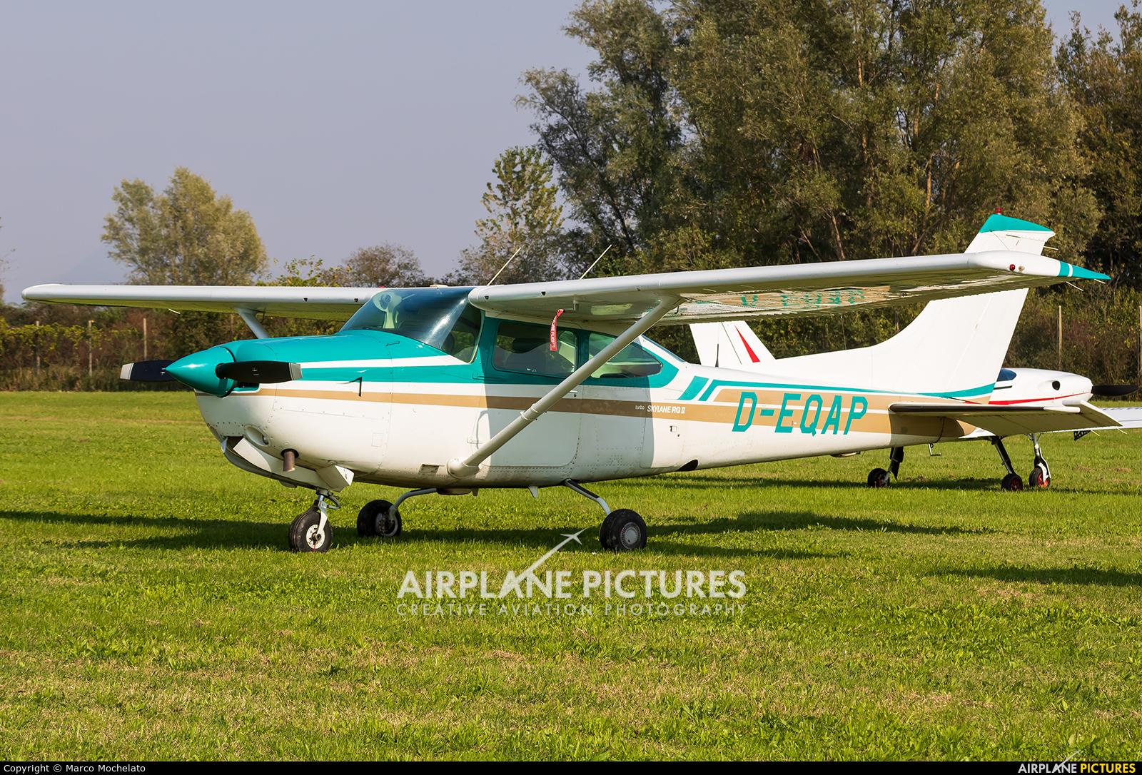 Private D-EQAP aircraft at Montagnana