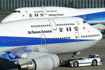 JA8097 - ANA - All Nippon Airways Boeing 747-400