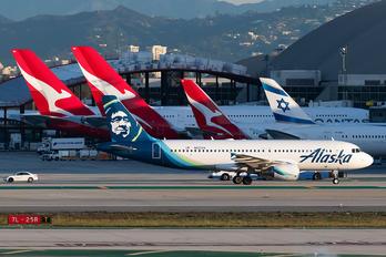 N622VA - Alaska Airlines Airbus A320