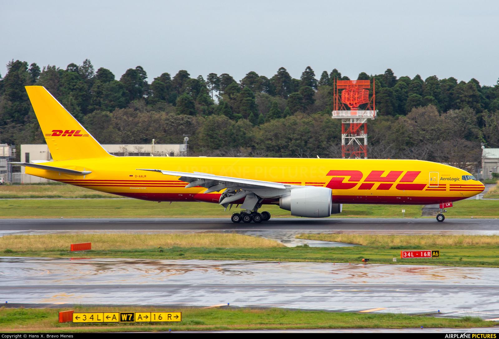 AeroLogic D-AALM aircraft at Tokyo - Narita Intl