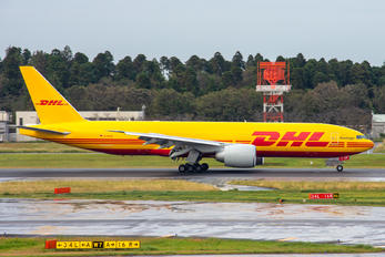 D-AALM - AeroLogic Boeing 777F