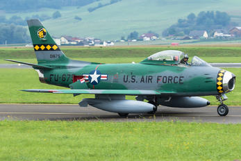 FU-675 - Privajet North American F-86 Sabre