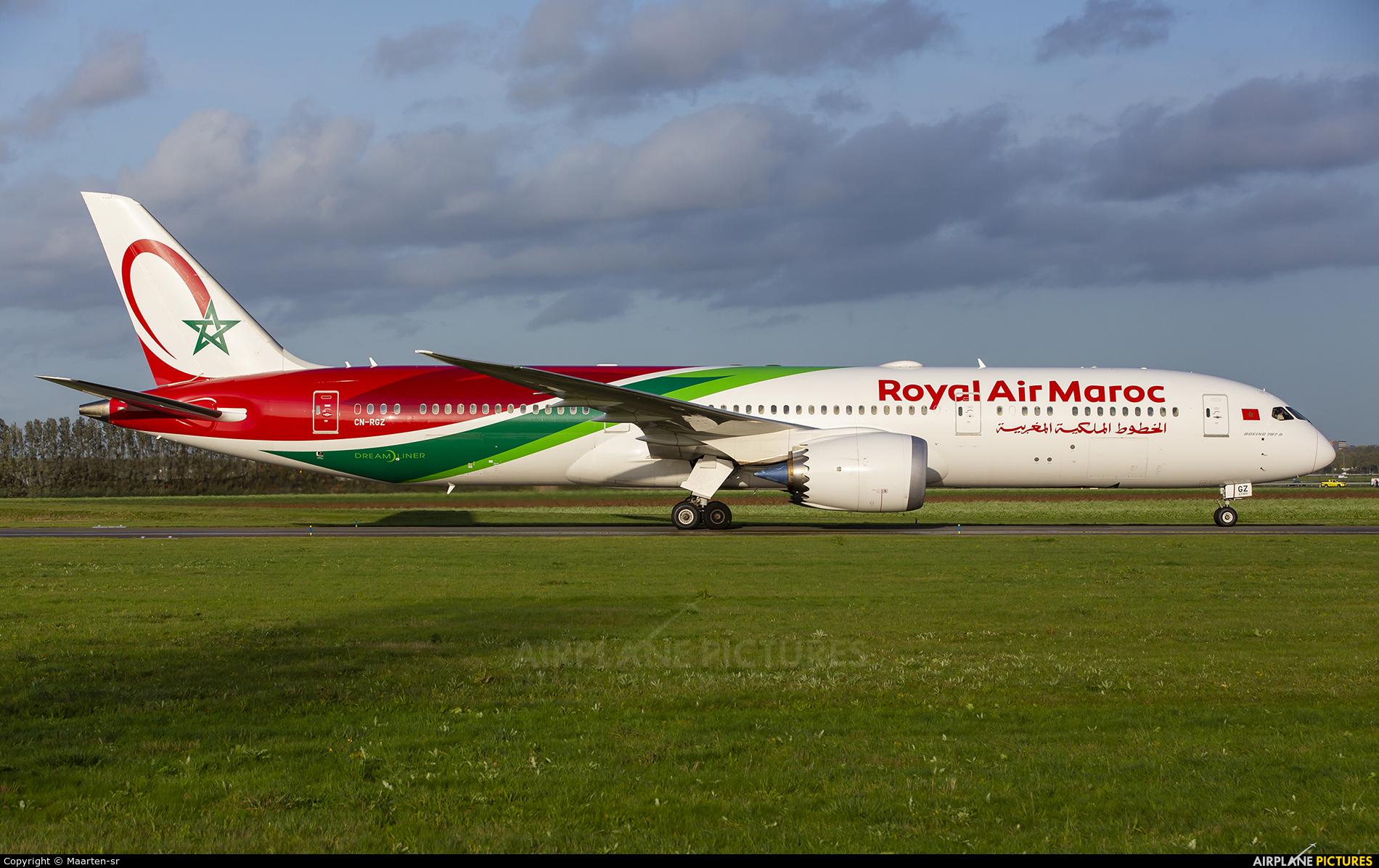 Royal Air Maroc CN-RGZ aircraft at Amsterdam - Schiphol