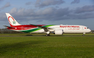CN-RGZ - Royal Air Maroc Boeing 787-9 Dreamliner