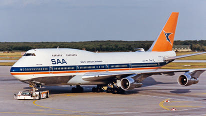 ZS-SAU - South African Airways Boeing 747-300