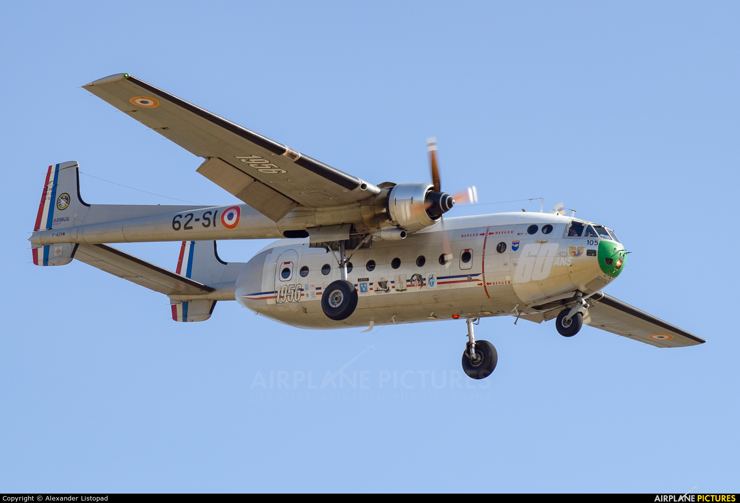Association Le Noratlas de Provence F-AZVM aircraft at Marseille Provence