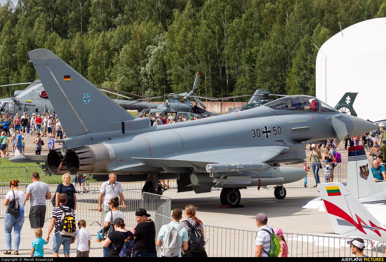 Germany - Air Force 30+50 aircraft at Siauliai