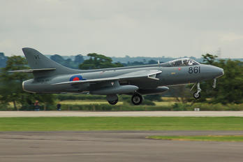 XE685 - Royal Navy Hawker Hunter GA.11