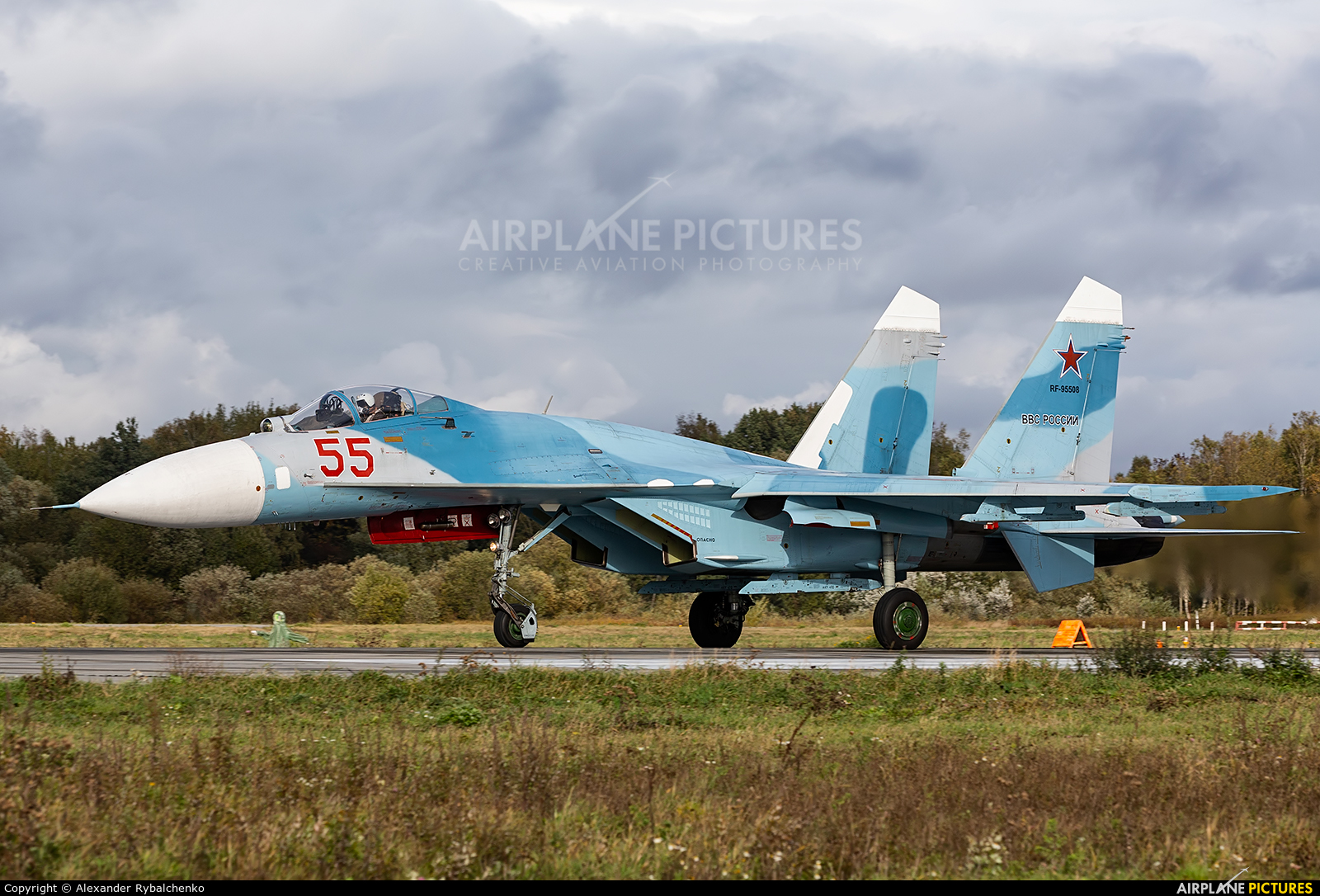 Russia - Navy RF-95508 aircraft at Undisclosed Location