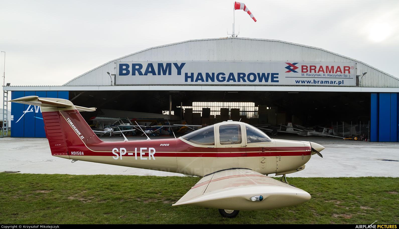 Private SP-IER aircraft at Wrocław - Szymanów