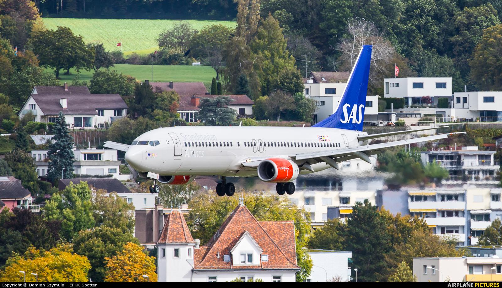 SAS - Scandinavian Airlines LN-RPR aircraft at Zurich