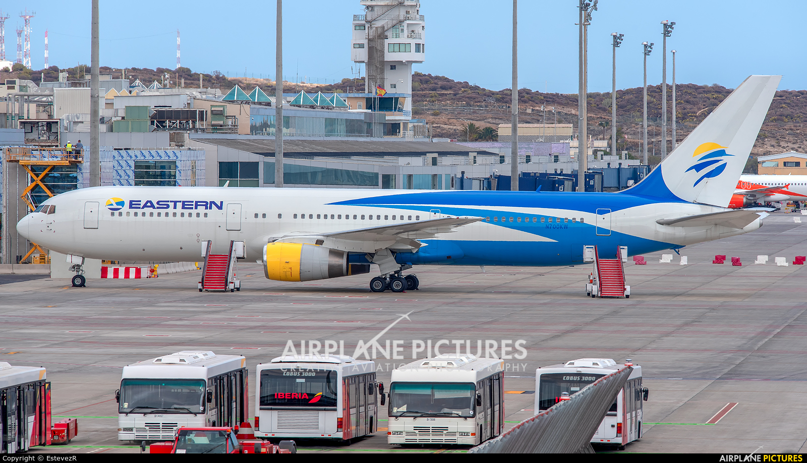 Eastern Airlines N700KW aircraft at Tenerife Sur - Reina Sofia