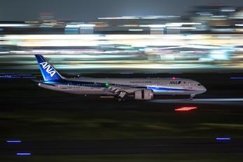 JA890A - ANA - All Nippon Airways Boeing 787-9 Dreamliner