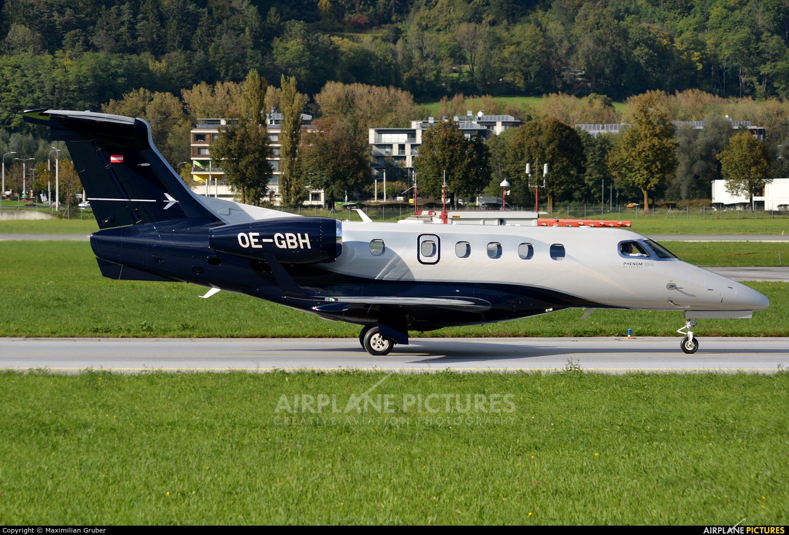 Tyrolean Jet Service OE-GBH aircraft at Innsbruck