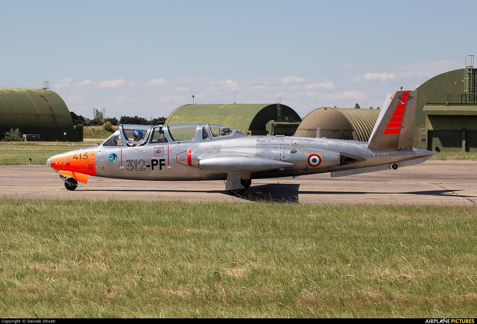 Private F-AZPZ aircraft at Orange - Caritat