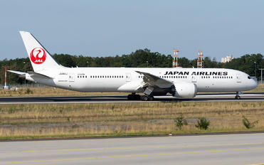 JA861J - JAL - Japan Airlines Boeing 787-9 Dreamliner