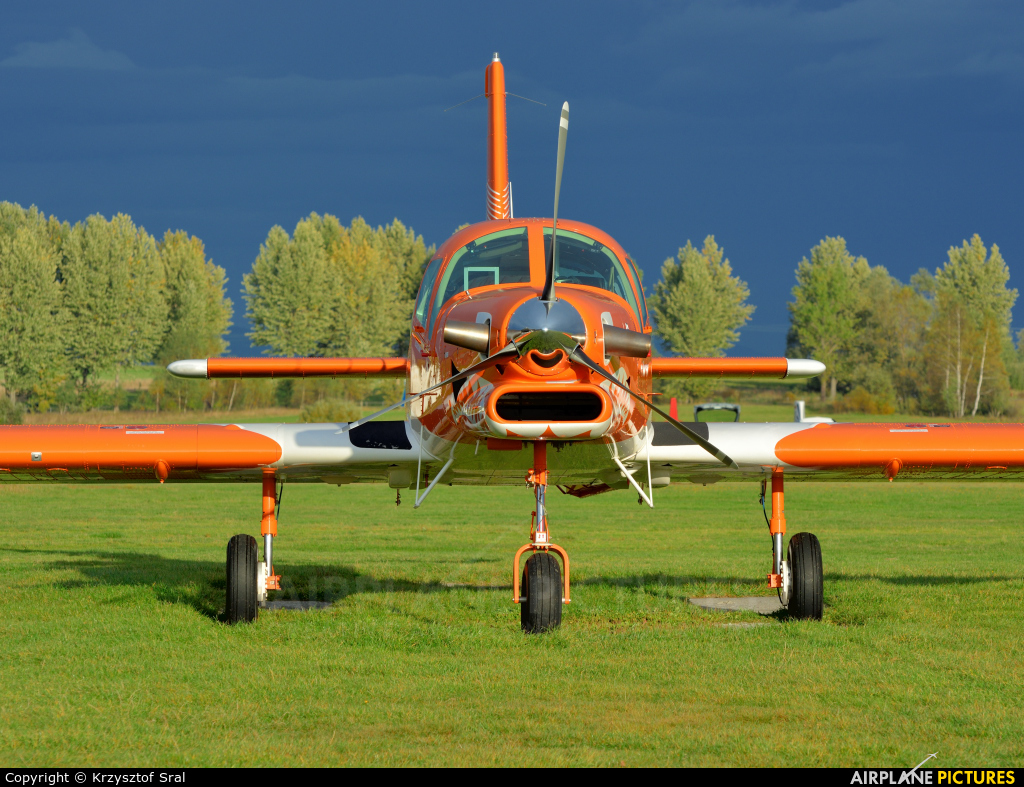 Private SP-MOC aircraft at Nowy Targ
