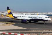 G-TCVC - Thomas Cook Airbus A321 aircraft