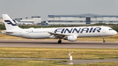 OH-LZF - Finnair Airbus A321