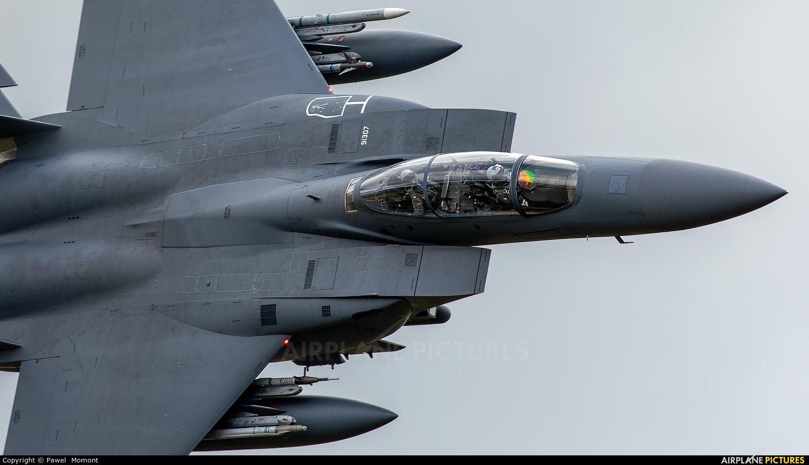 USA - Air Force 91-0307 aircraft at Machynlleth LFA7