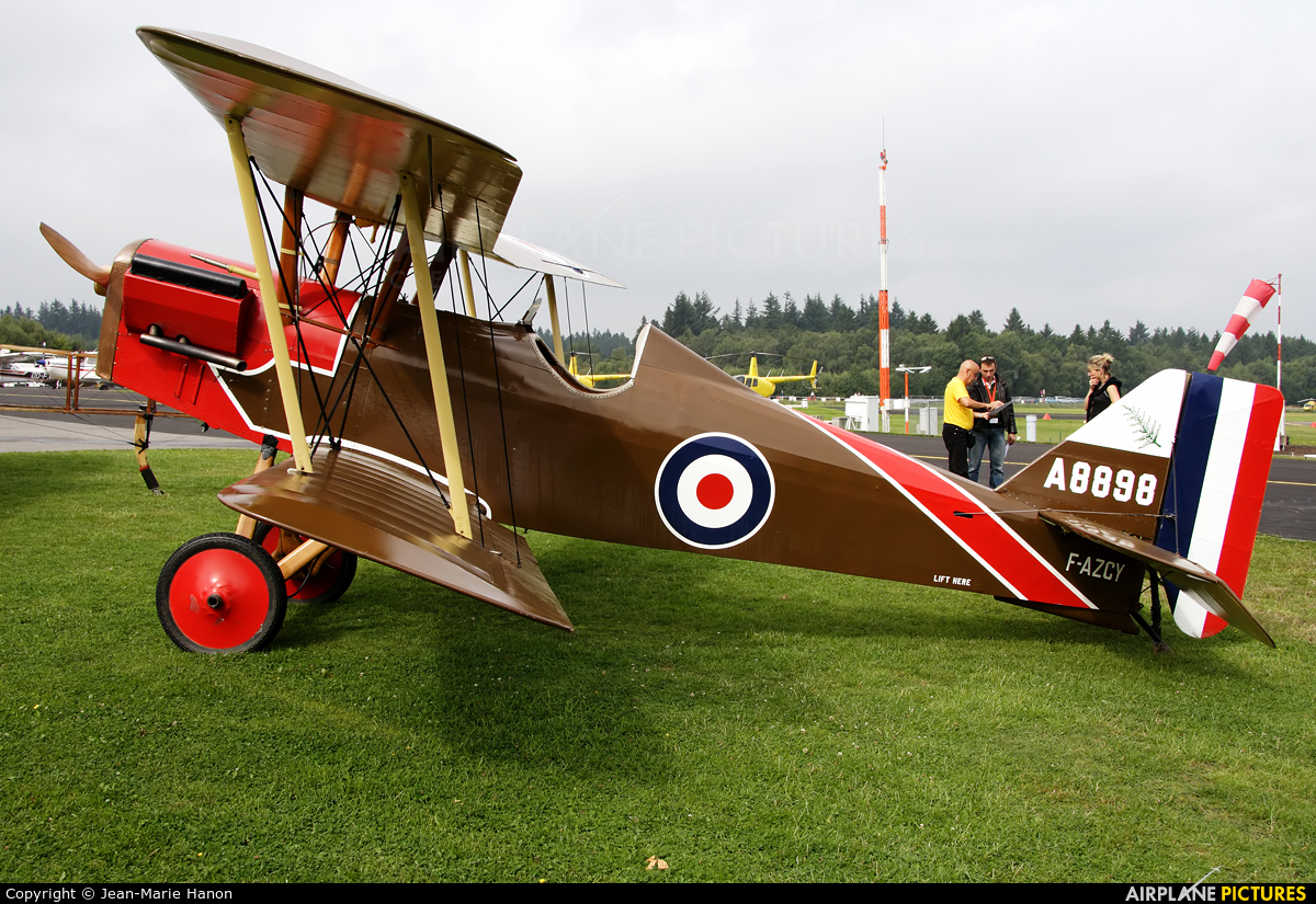 Amicale Jean Salis F-AZCY aircraft at Spa - La Sauveniere